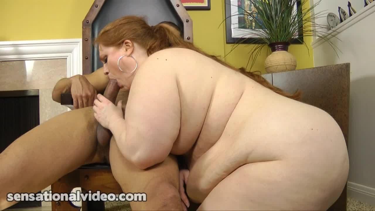 Julie Ann Porno julie ann more is a sexy redhead bbw sucking - porndig