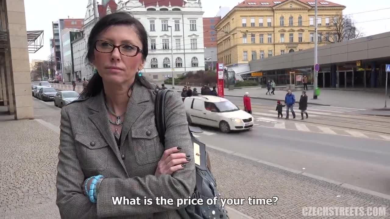 Czech Streets Milf