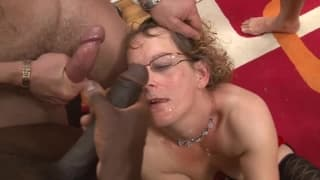 Hot cum on vulva and delicious