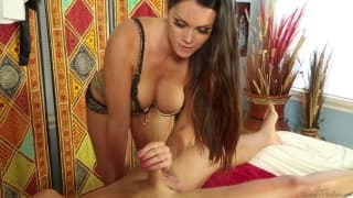 Alison Tyler and Jamie Stone get horny