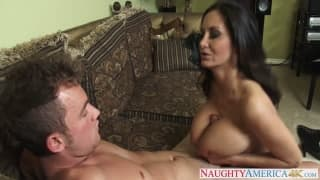 Ava Addams is rammed hard from behind