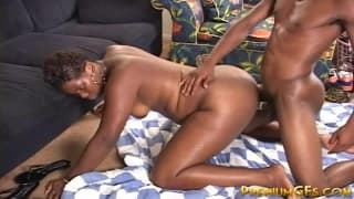A Black Couple Make This Sextape For Us