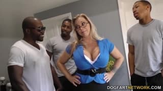 Amber Lynn Bach is fucked by various men