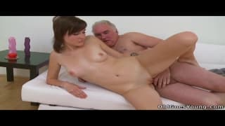 Inna gets shagged by an old guy