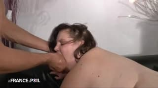 This fat woman loves to fuck hard!