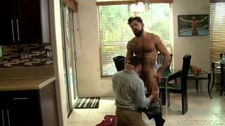 Alessandro Del Toro and his lover suck dick