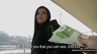 Victoria Blaze gets a great cum facial