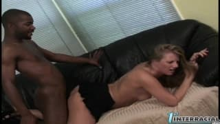 Porscha Ride gets a big black dick in her