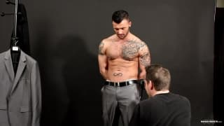 Manuel Deboxer is excited for his photoshoot