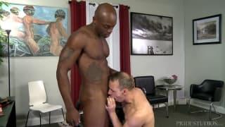 Osiris Blade enjoys with Rodney Steele