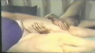 This huge woman loves to tease her man