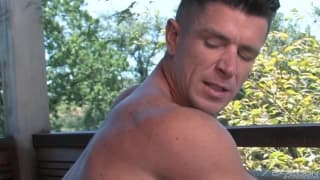 Trenton Ducati sucks the dick of Tate Ryde