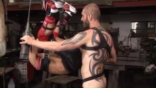 Geoffrey Paine ass fucks Sylvain Lyk