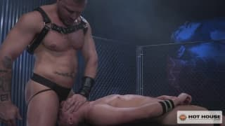Austin Wolf loves the body of Hunter Page