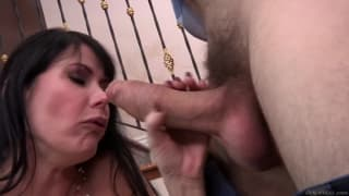 Eva Karera and Manuel Ferrara fuck together