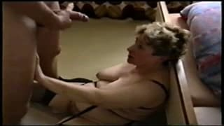 A mature woman who loves cock