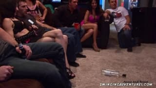 A huge orgy to enjoy with swingers
