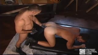 Jessie Balboa fist fucks the ass of Remy