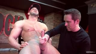 Pascal wanks off the dick of Zack