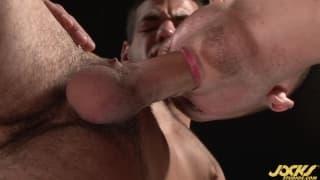A blowjob with plenty of pleasure