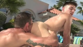 Ryan and Anthony Verusso go hard outdoors