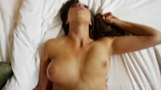 A cute brunette who loves to suck dick