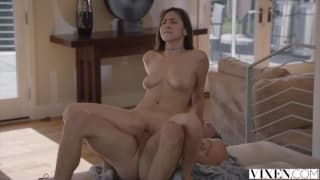 Nina North gets fucked by sister's boyfriend