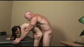 Kimber James enjoys a cock in her ass