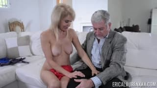 Erica Lauren loves to fuck old men