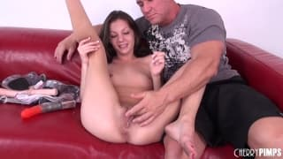 Alexis Venton loves being toyed
