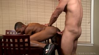Andrew Justice and Sean Xavier enjoy sodomy