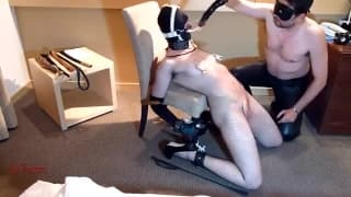 This couple love to get kinky at home