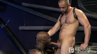 Race Cooper and Felix Barca get hard