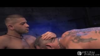 Derek da Silva and Tony Buf get hard