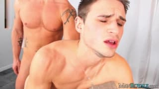 Jeremy Parker and Jackson Taylor enjoy sodomy