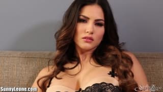 Sunny Leone enjoys playing with herself