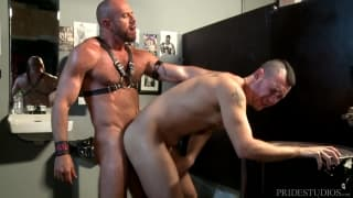 Matt Stevens and Bradley Boyd love domination
