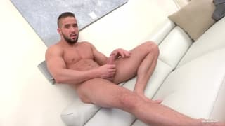 Zack loves to masturbate on camera