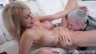 Erica Lauren loves getting banged hard