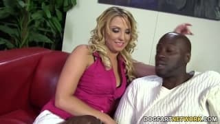 Lexi Kartel takes a big black dick deep