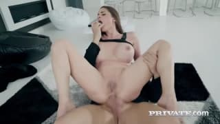 Cathy Heaven has a hardcore anal session