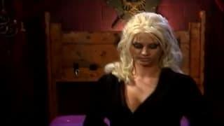 Busty blonde Krystal Steal in a hot scene