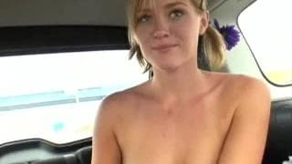 Young blonde gets all of his dick