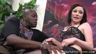 Can Veruca handle this big black cock?