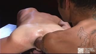 Chris Neal has his tight ass fisted here