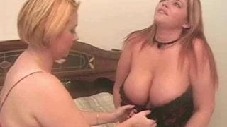 Samantha 38G and Eden in a hot Threesome
