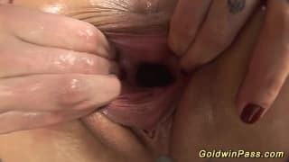 Lesbian having a tasty sexual moment