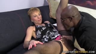 Gemma More is gagging for some big black cock
