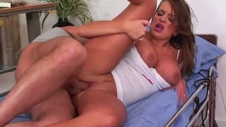A very hot and horny nurse for you to watch