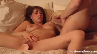 This is a horny wife who loves to masturbate